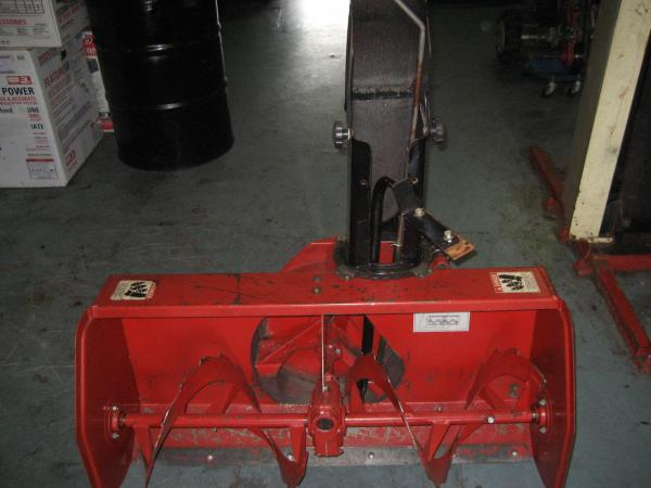 "SLIGHTLY USED 42"" Snowblower #1 for Honda RT5000, H5013, or H5518 Tractor"