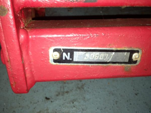 """Used 40"""" Rototiller # 10 for Honda RT5000, H5013, or H5518 Tractor"""