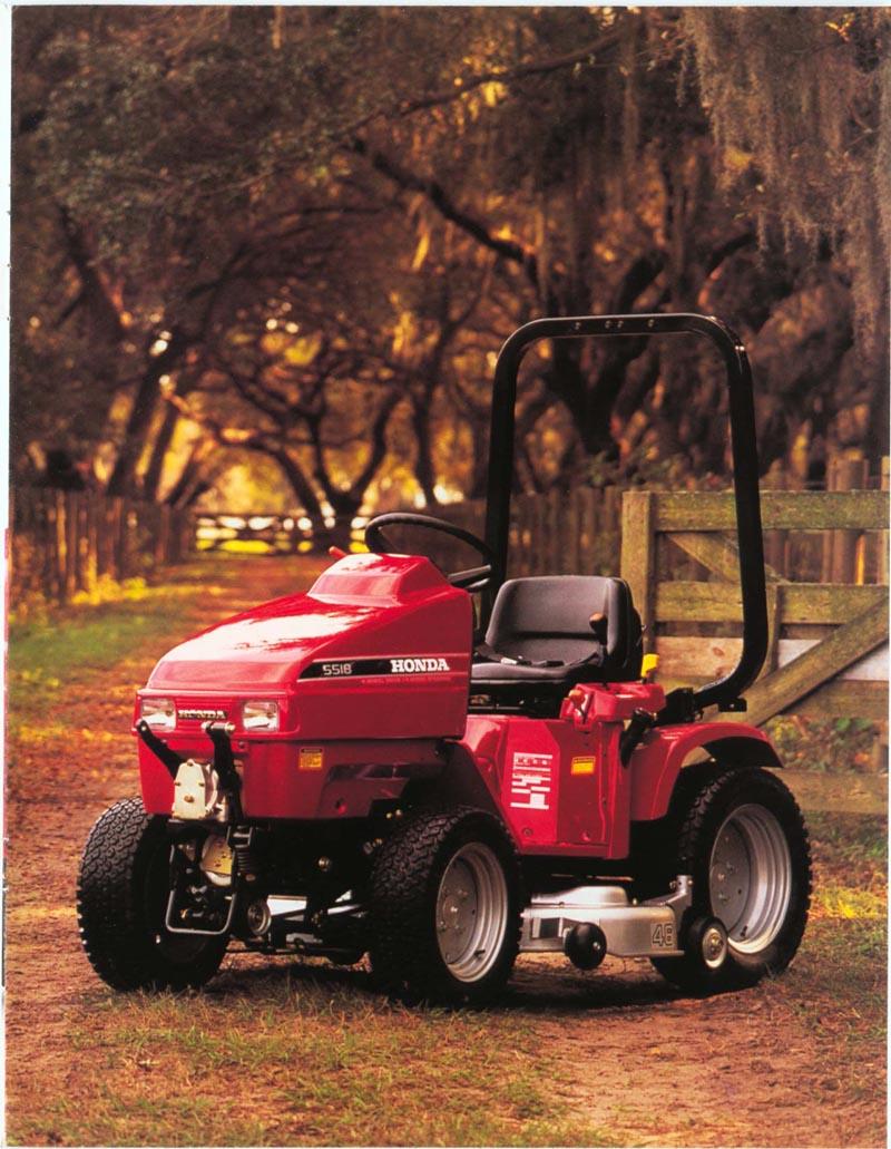 Factory Original Honda H5518 & H5013 Multi-Purpose Tractor Brochure page 5