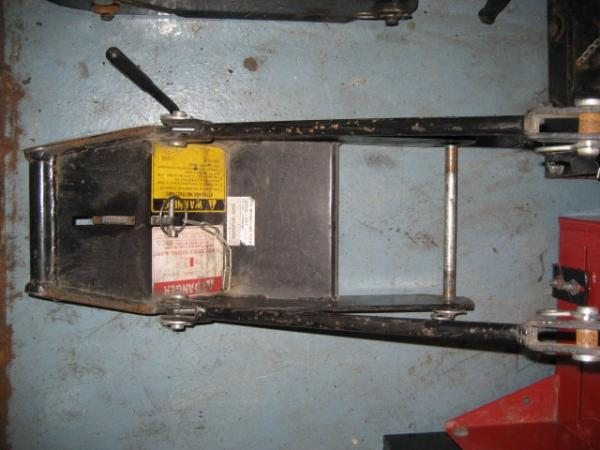 Used Front Quick Hitch #6 for Honda RT5000, H5013, or H5518 Tractor