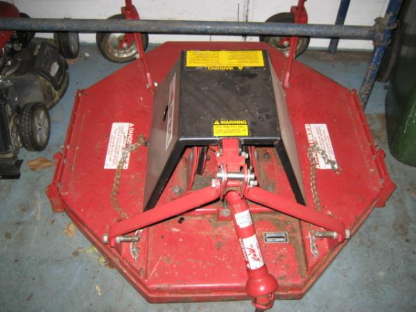 "LIKE NEW 42"" Brush Hog / Rough Cut Mower #1 for Honda RT5000, H5013, or H5518 Tractor"