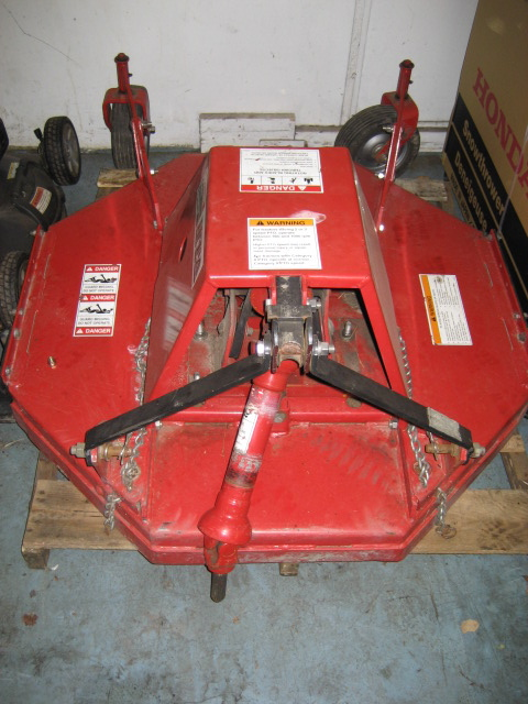 "<span class=""dojodigital_toggle_title"">LIKE NEW 42″ Brush Hog / Rough Cut Mower #2 for Honda RT5000, H5013, or H5518 Tractor</span>"