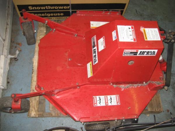 "LIKE NEW 42"" Brush Hog / Rough Cut Mower #2 for Honda RT5000, H5013, or H5518 Tractor"