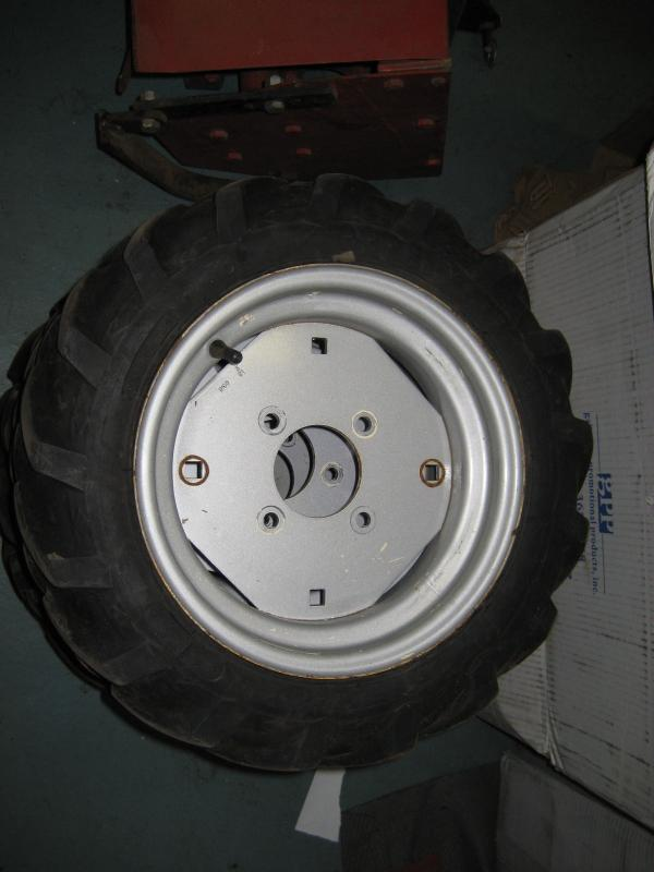 Used Ag Tires & Rims for Honda RT5000, H5013, or H5518 Tractor