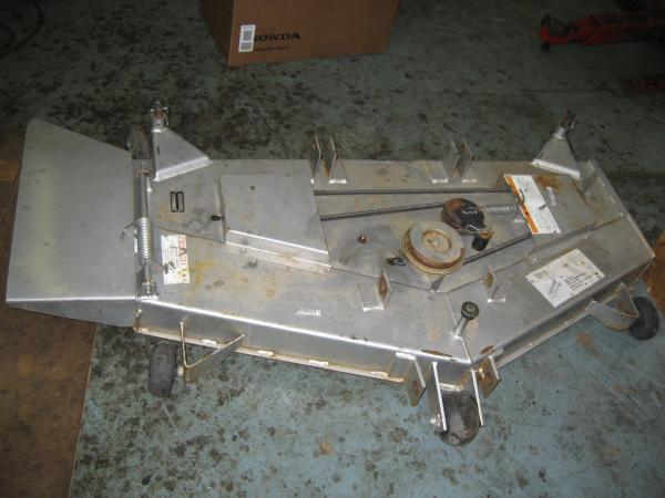 "<span class=""dojodigital_toggle_title"">Used 52″ Mower Deck #3 for H5518 Tractor</span>"