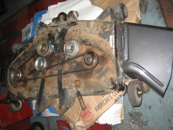 """Used 46"""" Mower Deck #6 for Honda RT5000 Tractor"""