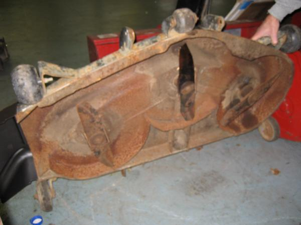 """Used 46"""" Mower Deck #7 for Honda RT5000 Tractor"""