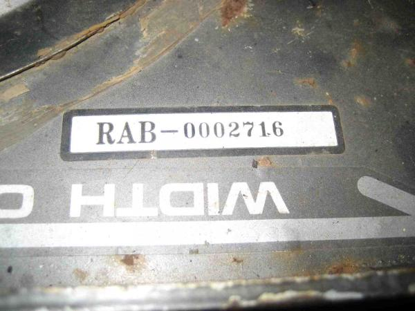 "Used 46"" Mower Deck #7 for Honda RT5000 Tractor"