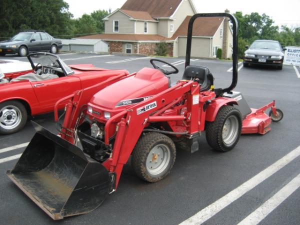 Honda H5518A4 Tractor #22