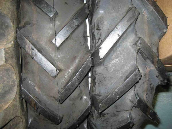 BRAND NEW FRONT and USED REAR Ag Tires & Rims for Honda RT5000, H5013, or H5518 Tractor