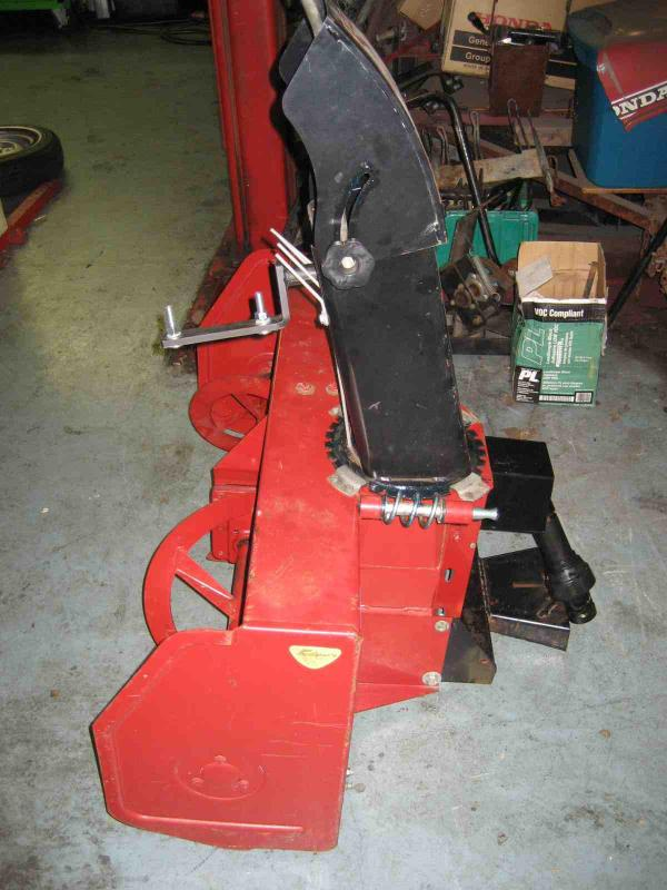 "LIKE NEW 42"" Snowblower #10 for Honda RT5000, H5013, or H5518 Tractor"