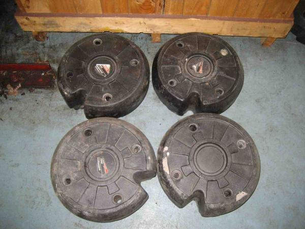 Used Wheel Weights #1 for Honda RT5000, H5013, or H5518 Tractor