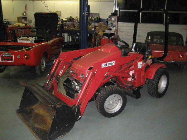 Honda H5518A4 Tractor #23