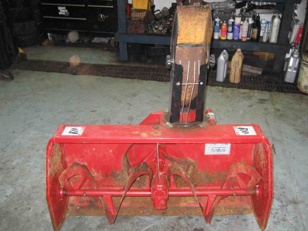 "USED 42"" Snowblower #11 for Honda RT5000, H5013, or H5518 Tractor"
