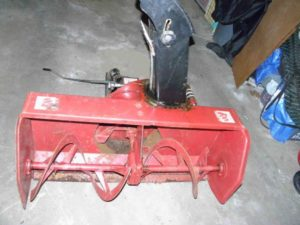 USED 42″ Snowblower #12 for Honda RT5000, H5013, or H5518 Tractor