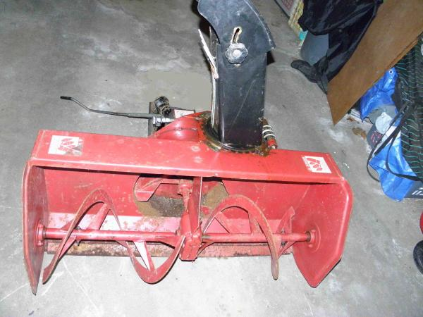 "USED 42"" Snowblower #12 for Honda RT5000, H5013, or H5518 Tractor"
