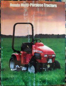 Factory Original Honda H5518 & H5013 Multi-Purpose Tractor Brochure