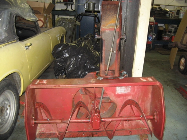 "USED 42"" Snowblower #15 for Honda RT5000, H5013, or H5518 Tractor"
