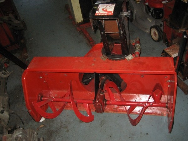 "<span class=""dojodigital_toggle_title"">USED 42″ Snowblower #17 for Honda RT5000, H5013, or H5518 Tractor</span>"