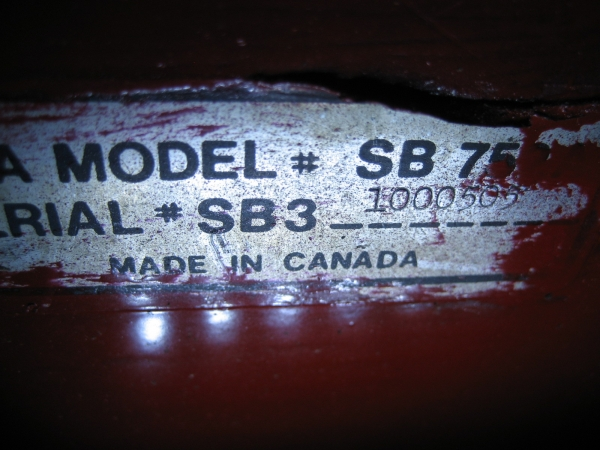 """USED 42"""" Snowblower #17 for Honda RT5000, H5013, or H5518 Tractor"""
