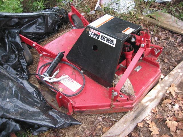 "Used 42"" Brush Hog / Rough Cut Mower for Honda RT5000, H5013, or H5518 Tractor"