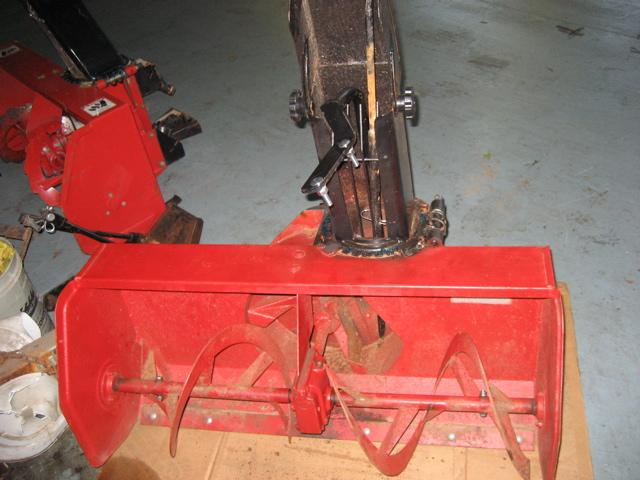 "Used 42"" Snowblower for Honda RT5000, H5013, or H5518 Tractor"