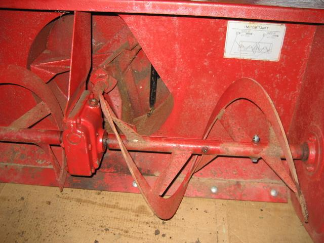 """Used 42"""" Snowblower for Honda RT5000, H5013, or H5518 Tractor"""