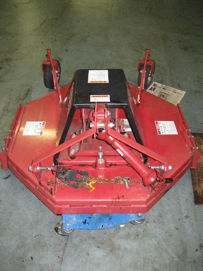"<span class=""dojodigital_toggle_title"">LIKE NEW 42″ Brush Hog / Rough Cut Mower for Honda RT5000, H5013, or H5518 Tractor</span>"