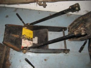 Used Front Quick Hitch #3 for Honda RT5000, H5013, or H5518 Tractor