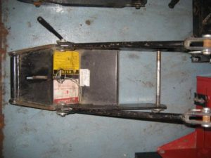 Used Front Quick Hitch #4 for Honda RT5000, H5013, or H5518 Tractor