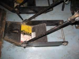 Used Front Quick Hitch #5 for Honda RT5000, H5013, or H5518 Tractor