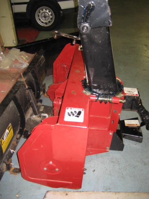 "<span class=""dojodigital_toggle_title"">Slightly Used 42″ Snowblower #5 for Honda RT5000, H5013, or H5518 Tractor</span>"