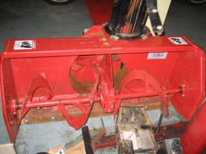 Slightly Used 42″ Snowblower #4 for Honda RT5000, H5013, or H5518 Tractor