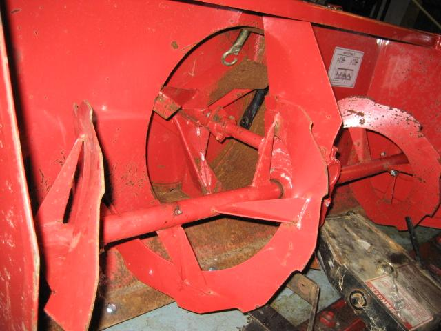 "Slightly Used 42"" Snowblower #4 for Honda RT5000, H5013, or H5518 Tractor"