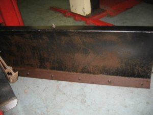 Slightly Used 46″ Dozer Blade #3 for Honda RT5000, H5013, or H5518 Tractor