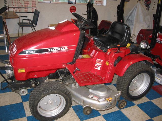 Honda H5518A4 Tractor 9
