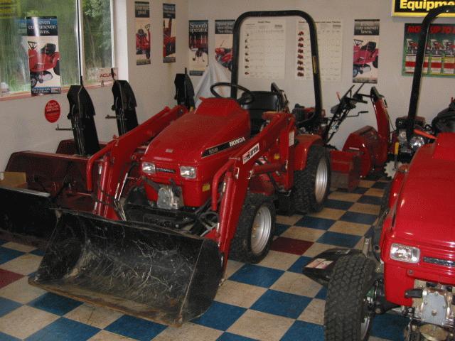 Honda H5518A4 Tractor 10