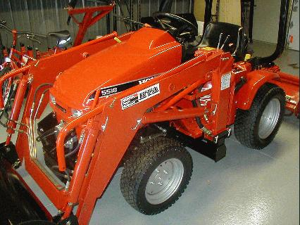 Honda H5518A4 Tractor 11