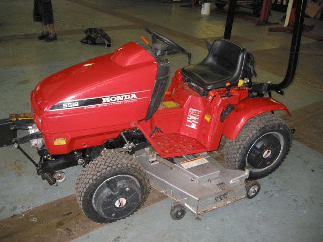 Honda H5518A4 Tractor 2