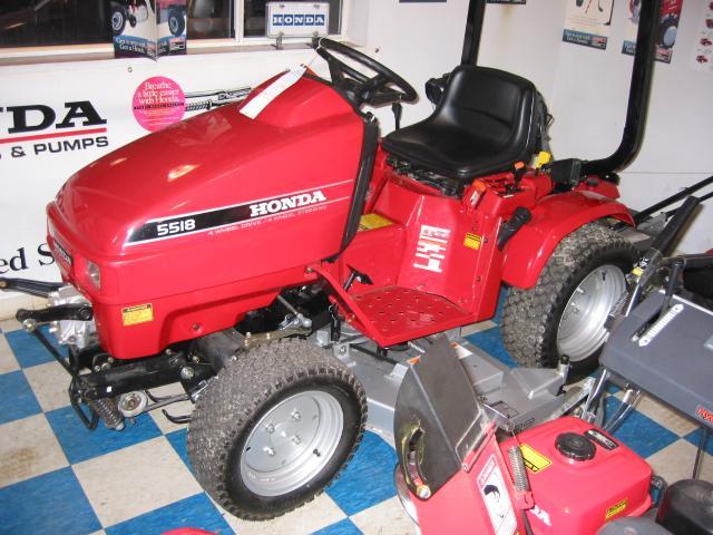 Honda H5518A4 Tractor 1