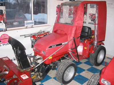 Honda H5518A4 Tractor 4