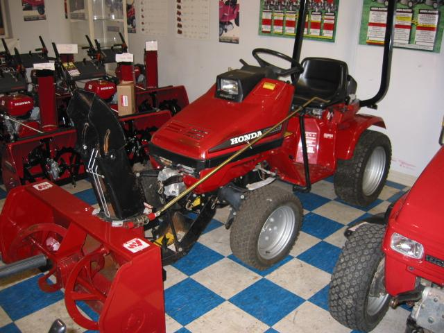 Honda RT5000 Tractor 7