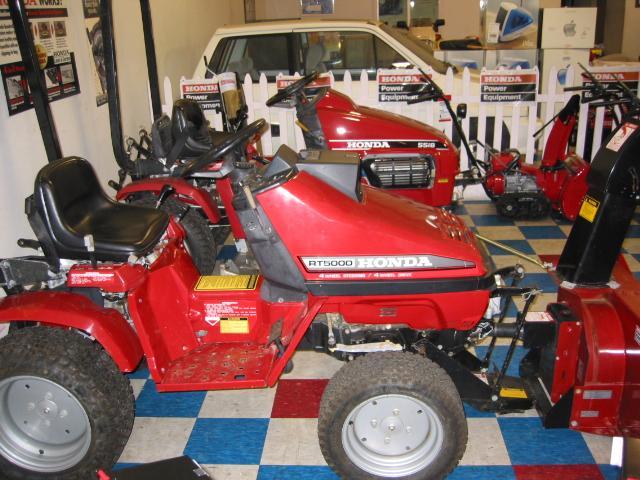 Honda Rt5000 Tractor 7  U2013 Formula H Motorworks  Inc