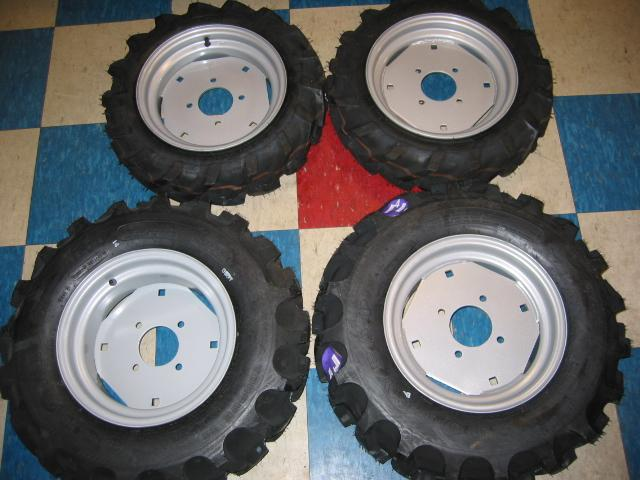 BRAND NEW Ag Tires for Honda RT5000, H5013, or H5518 Tractor