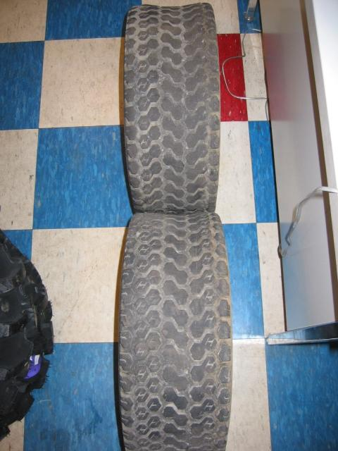 Used Front Turf Tires for Honda RT5000, H5013, or H5518 Tractor