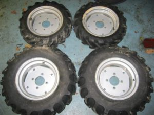 NEW Ag Tires for Honda RT5000, H5013, or H5518 Tractor