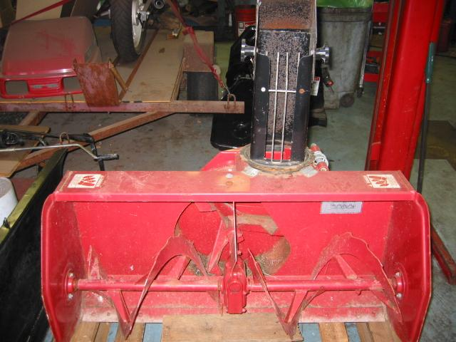 "Used 42"" Snowblower #3 for Honda RT5000, H5013, or H5518 Tractor"