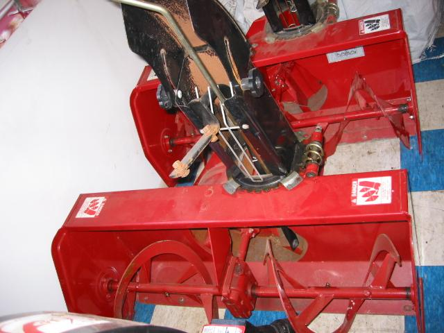 "<span class=""dojodigital_toggle_title"">Used 42″ Snowblower #4 for Honda RT5000, H5013, or H5518 Tractor</span>"