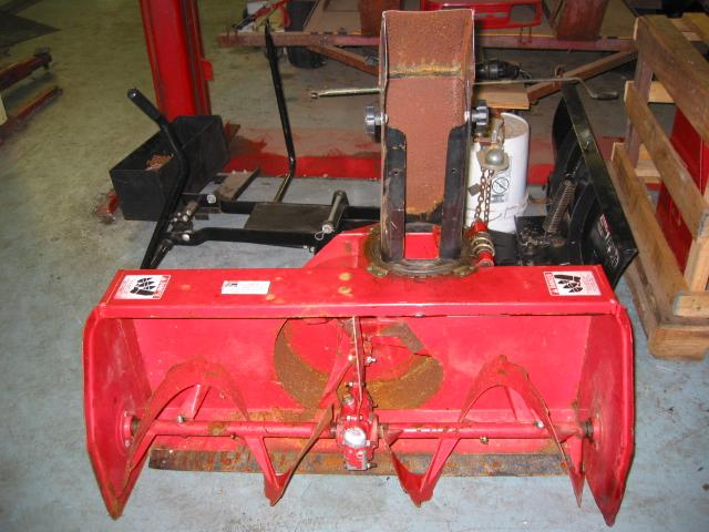 "Used 42"" Snowblower #1 for Honda RT5000, H5013, or H5518 Tractor"