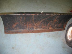 Used 46″ Dozer Blade #1 for Honda RT5000, H5013, or H5518 Tractor